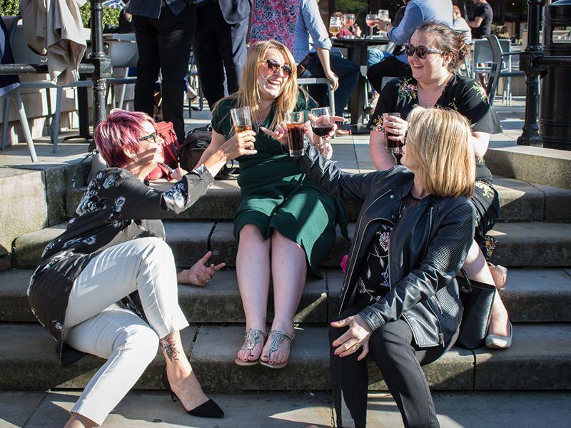 Even our team enjoys a good bit of socialising!